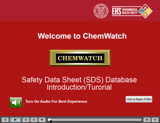 Safety Data Sheets Sdss Environmental Health And Safety